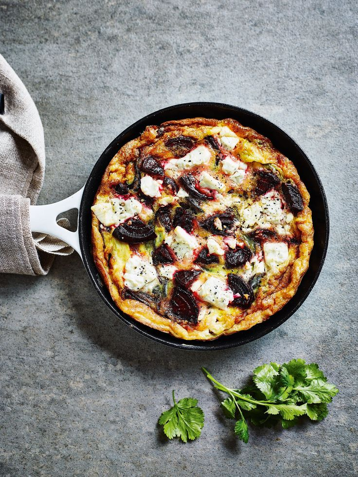 Clean Eating Alice Beetroot and Feta Frittata Recipe | POPSUGAR Fitness UK