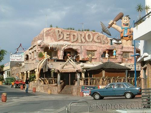 Bedrock café - Ayia Napa, Cyprus