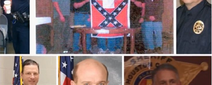 New Report Provides Evidence That Alabama Police, District Attorney Have Framed as Many as 1,000 Innocent Black Men for Drugs, Guns for Years, Many Still in Prison | Steve Parrish, Police Chief of Dothan, Alabama and other officers accused of framing Black men were members of the Sons of Confederate Veterans (RaeMonica Cloyd, YouTube)