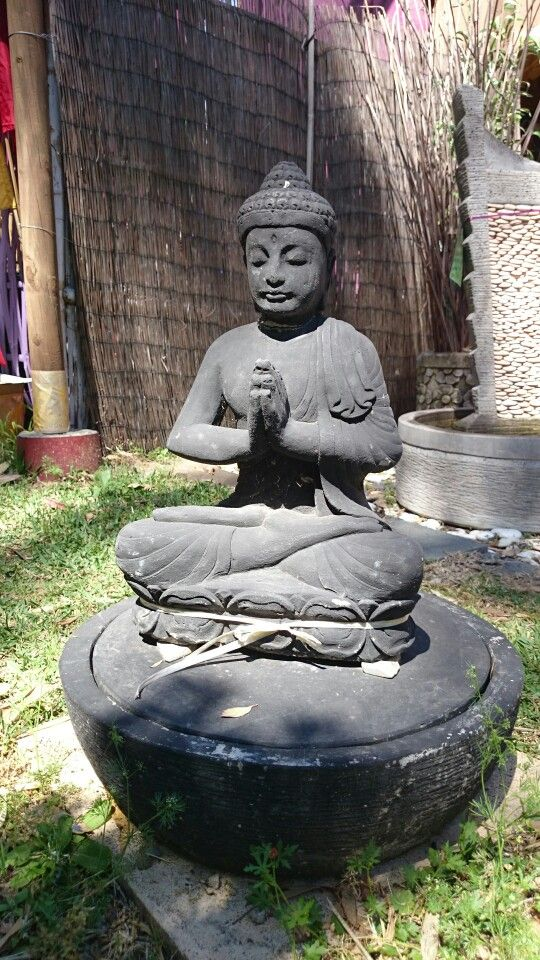 Bring peace and tranquillity to your garden www.baligarden.com