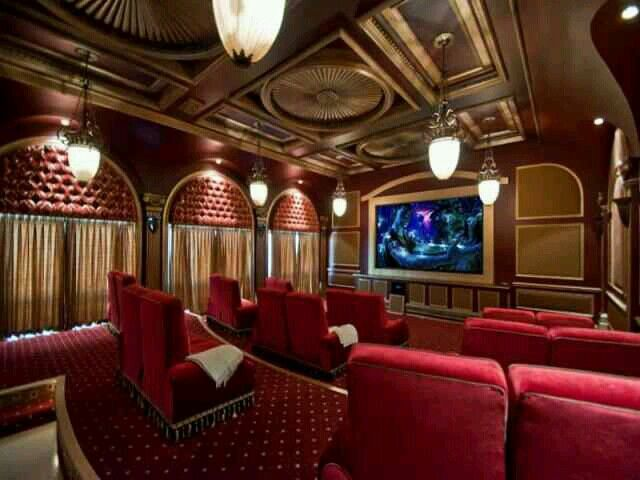 Home Cinema Saba Design 08 Part - 25: Beautiful Home Theater~