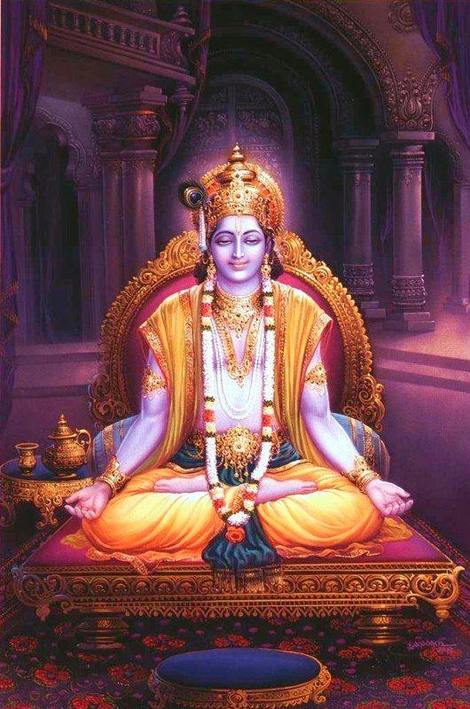 Krishna Book Chapter 70: Lord Krishna's Daily Activities http://krsnabook.com/ch70.html