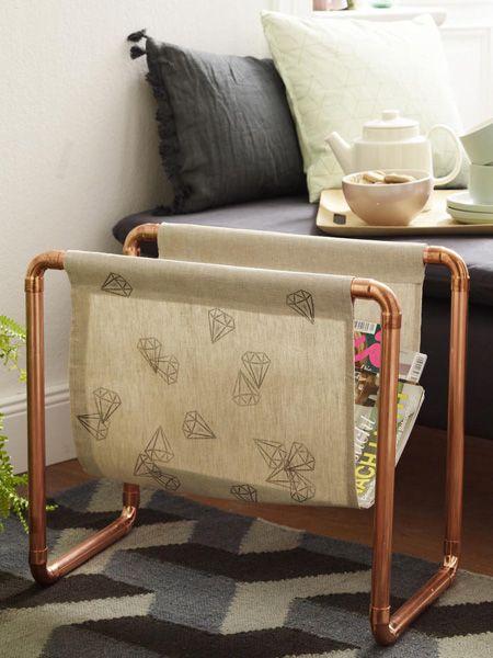 Mit selbstgebastelten Stempeln kann man richtig kreativ werden. Verzieren Sie ganz einfach Bettwäsche, Tischset, Kosmetiktaschen und Co.