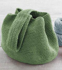 Crochet Bucket Bag By Martha Stewart Crafts - Free Crochet Pattern - (joann)