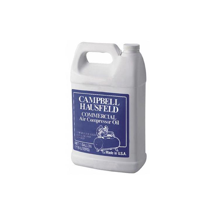 Campbell Hausfeld ST1263701AV Air Compressor Oil 1 Gallon Air Tool Accessories Air Compressor Accessories Air Compressor Oil