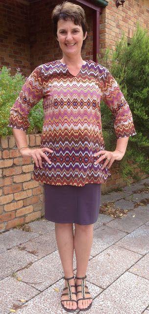Tessuti Maggie in cotton. Colette Mabel skirt in ponti.
