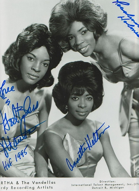 "Martha and the Vandellas  were an American vocal group who found fame in the 1960s with a string of hit singles on Motown's Gordy label. They became well known for hits such as ""Heatwave"", ""Dancing In The Street"", ""Nowhere To Run"", ""Quicksand"", ""I'm Ready For Love"", ""Honey Chile"", ""Jimmy Mack"" and ""Bless You""."