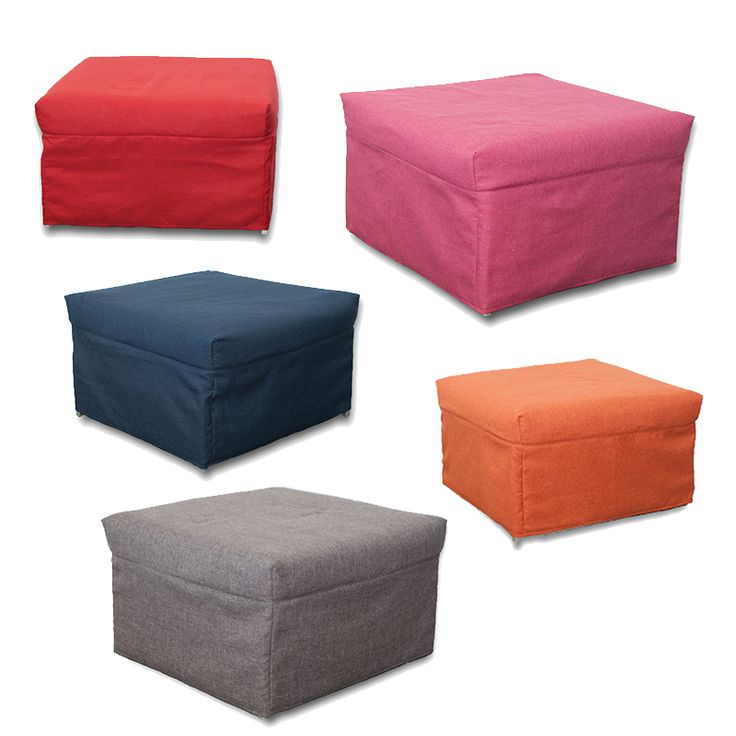 #Smart and #Colourful! The #Balù #Pouf / #Bed is available in five bright colours.