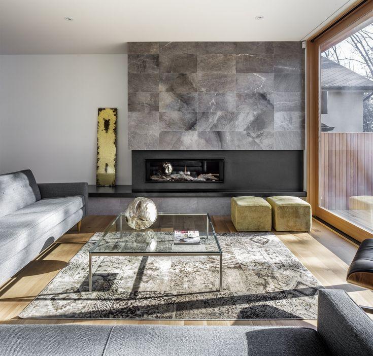Fireplace, South Kingslea | Kyra Clarkson Architect