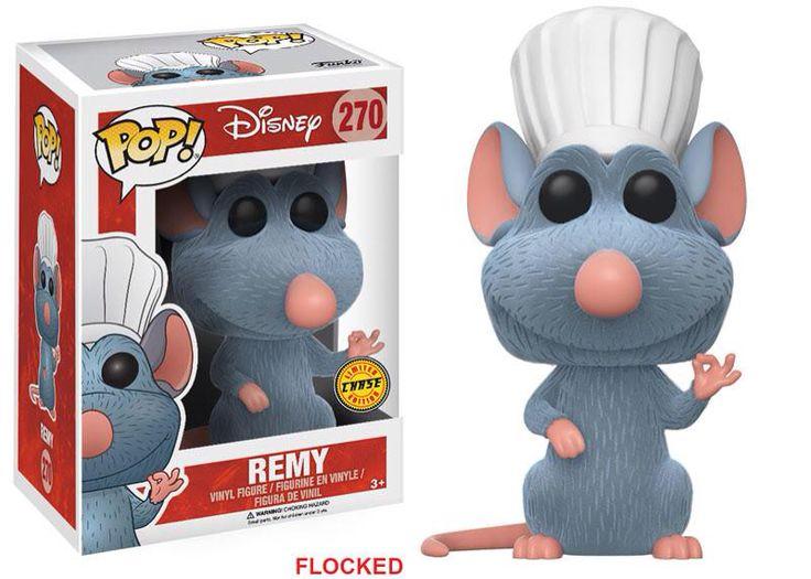 Funko pop. Remy. Exclusive. Flocked. Disney http://amzn.to/2ttYxpw