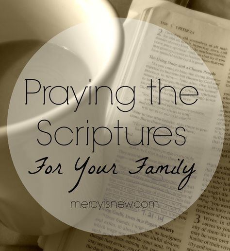 Praying 2 Chronicles 7:14-15 For Your Family