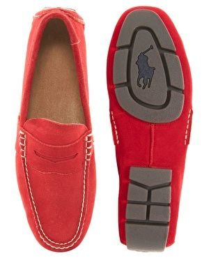 Polo Ralph Lauren Telly Suede Loafers
