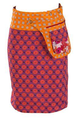 Boom Shankar 50s dresses Rosanna Reversible Skirt - Womens Knee Length Skirts - Birdsnest Online Store