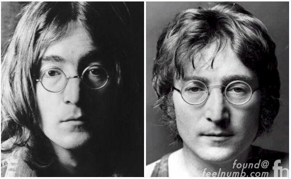 John Lennon Wire-Rimmed Windsor Granny Glasses