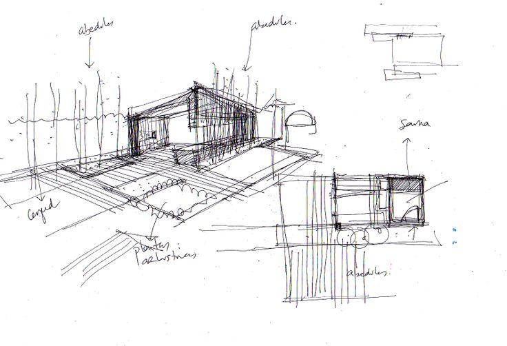 17 mejores im genes sobre dibujos croquis y planos de for Planos de jardines
