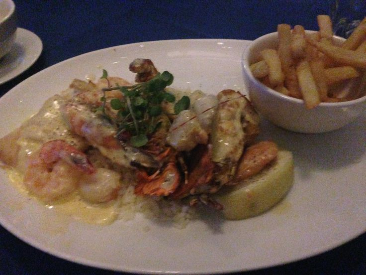 #seafood #dinner Georges's  paragon