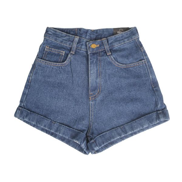 Denim shorts - Vintage and other apparel, accessories and trends. Browse and shop 8 related looks.