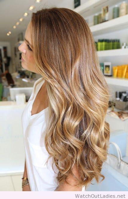New caramel hair color