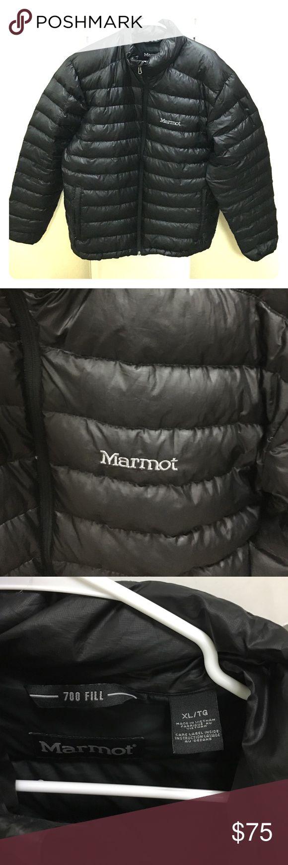 Men's size XL new Marmot puffer coat Men's size XL new Marmot puffer coat. Color black. Worn once Marmot Jackets & Coats Puffers