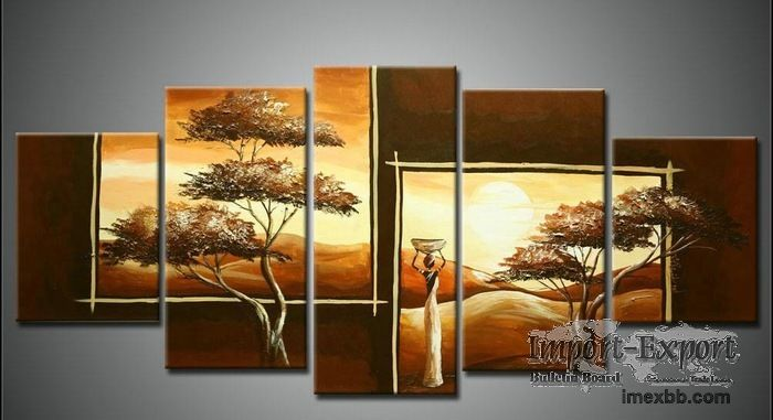 Group Oil Painting Picture