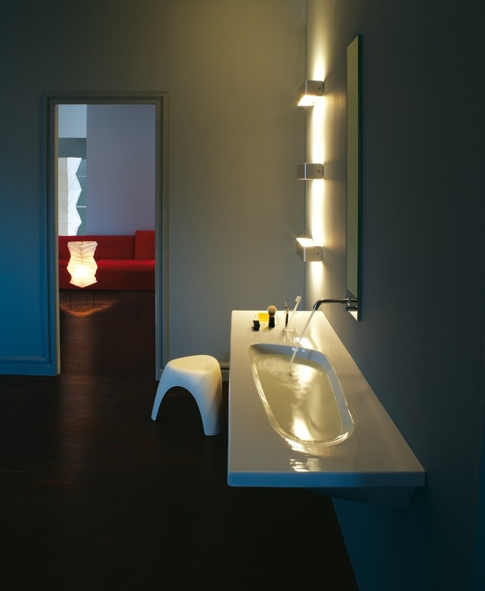 Bathroom lighting. Palomba Collection. www.laufen.com