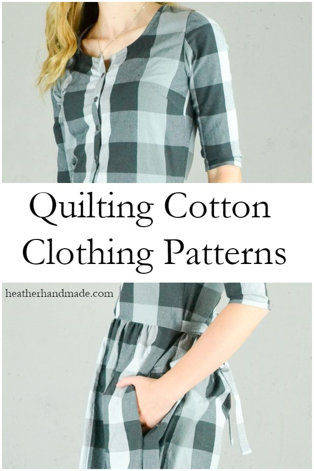 Can I Use Quilting Cotton To Make Clothing Easy Sewing