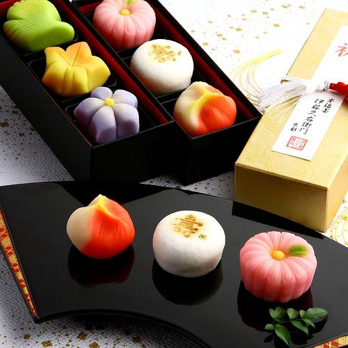Wagashi- A traditional japanese confectionary meant to be enjoyed with green tea. I have yet to find a place in Vancouver that sells/serves wagashi