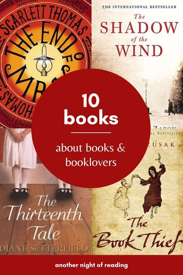 10 Books About Books Book Lovers Books Book Lovers Best Books To Read