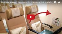 SCG VIRALS: Here's why some plane seats don't line up with the windows