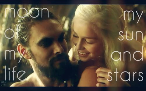 Sun and stars - Drogo & Daenerys - Game of Thrones