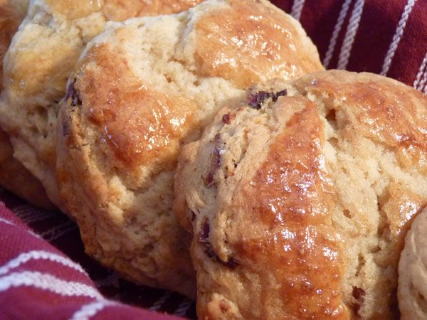 Maple Bacon Biscuits from the Huckleberry Cafe | Recipe | Cas, Bacon ...