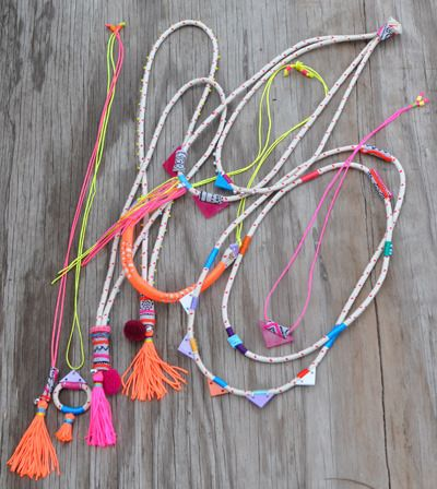 Image of Rope tassel necklace