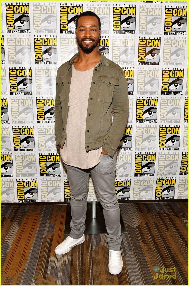 Isaiah Mustafa at the Comic-Con 2017