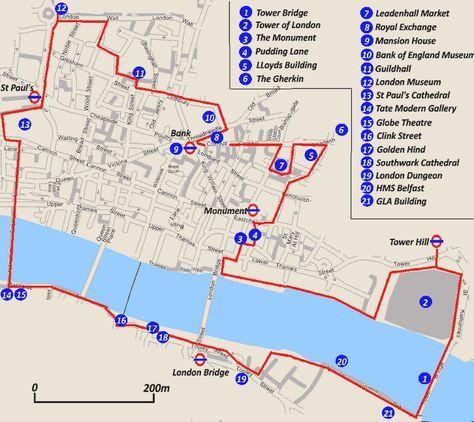 on city of london map uk