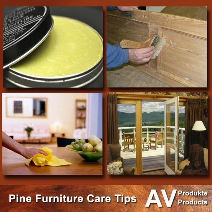 Pine furniture has a extraordinary charm and beauty. Care means to maintain  something for its