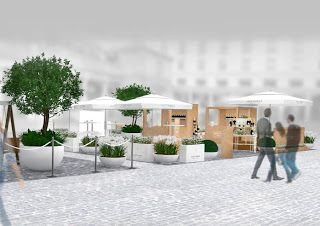 London Pop-ups: The Nyetimber Garden Bar in Covent Garden - Daily from 1st - 28th June