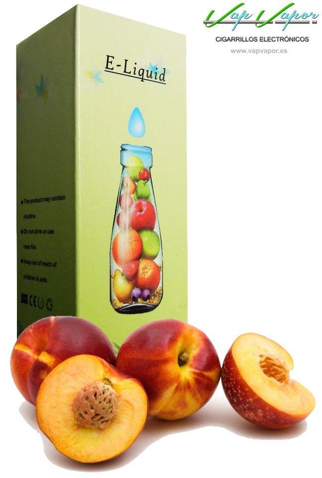 e-liquid Melocotón  http://www.vapvapor.es/liquido-frutas-cigarrillo-electronico  Líquidos para cigarrillos electrónicos de la marca e-liquid. Nuestra marca e-liquid se caracteriza por su gran variedad de aromas y sabores.     - e-liquid sabor Melocotón (afrutado)     - Categoría: frutas
