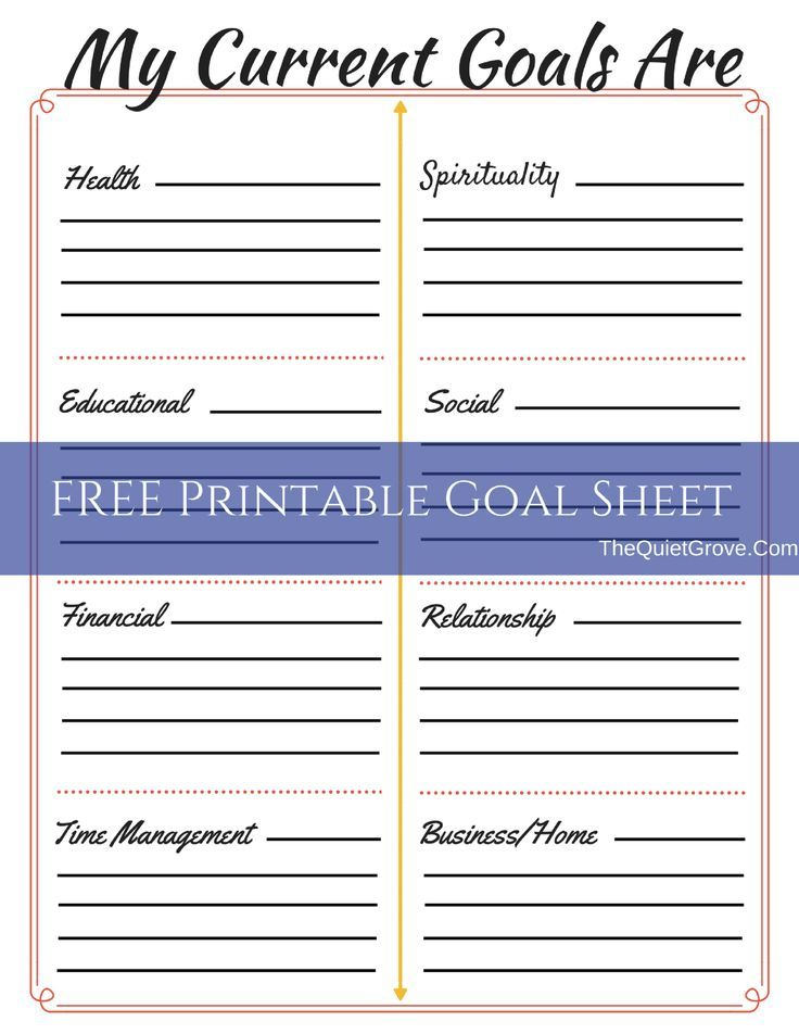 7 best images about Goal Setting on Pinterest