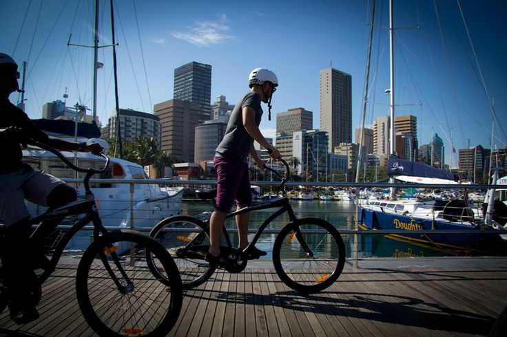 Discover Durban by bicycle on a bike tour