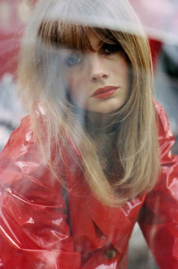 Jean Shrimpton, Vogue August 1966 photograped by Saul Leiter