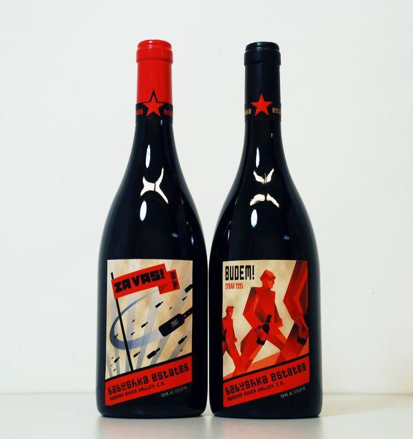 Babushka Estates Wine LabelWine Labels Design, Awesome Labels, Wine Label Design, Labels Envy