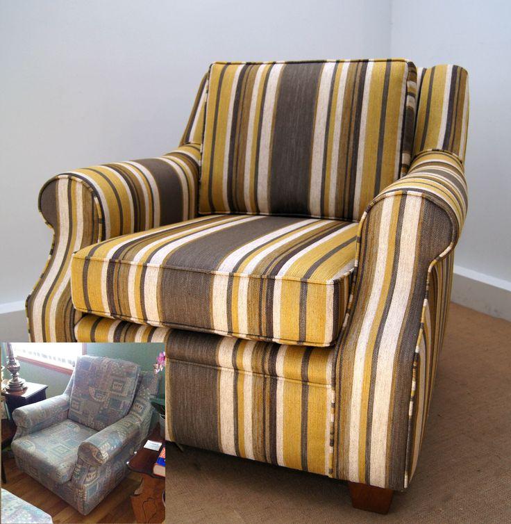 """Great stripe by Robert Allen Fabrics  """"Ocosingo"""" Zest"""