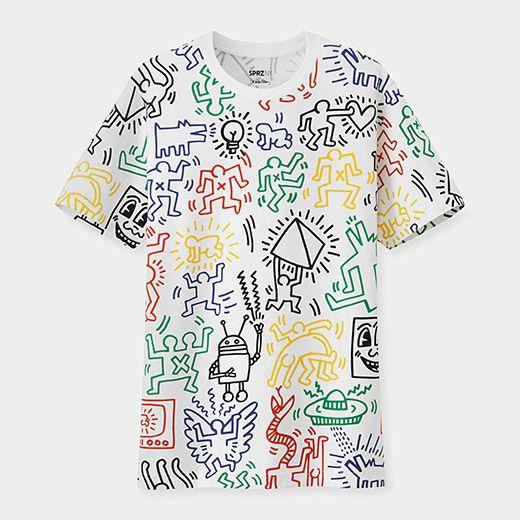 UNIQLO Keith Haring Multicolor T-Shirt | MoMAstore.org
