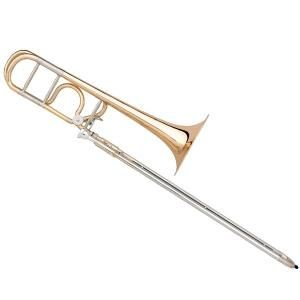 "Bb/F Slide Trombone B&S Meistersinger ""Stölzing"" Nickel silver slides"