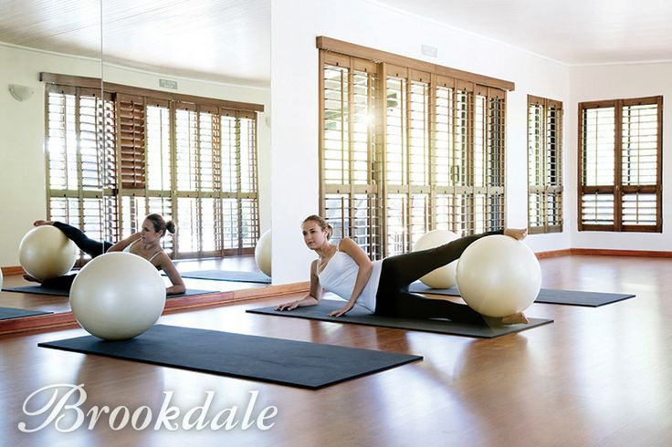 Pilates in the studio at Brookdale Health Hydro