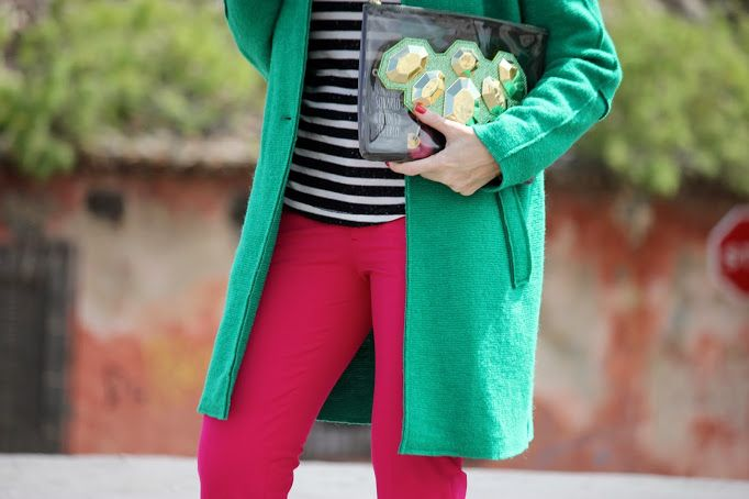 So cute by Guccisima: Green coat