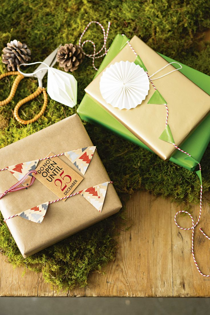 Our decorative mini bunting in the perfect way to jazz up your gifts this year! They'll almost look too good to unwrap!