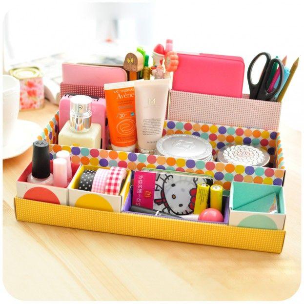 Inspiración: almacenaje de materiales de escritorio en casa - Belelú