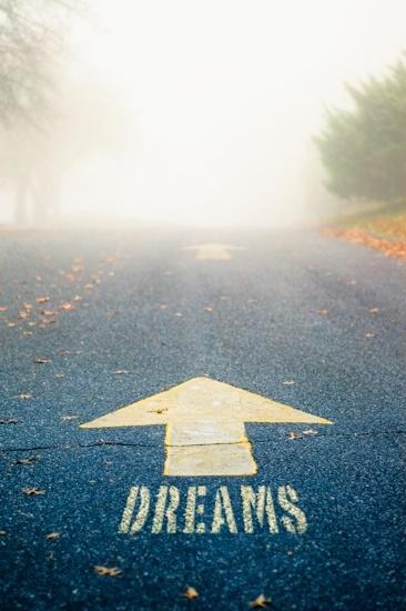 Sigue tus sueños.