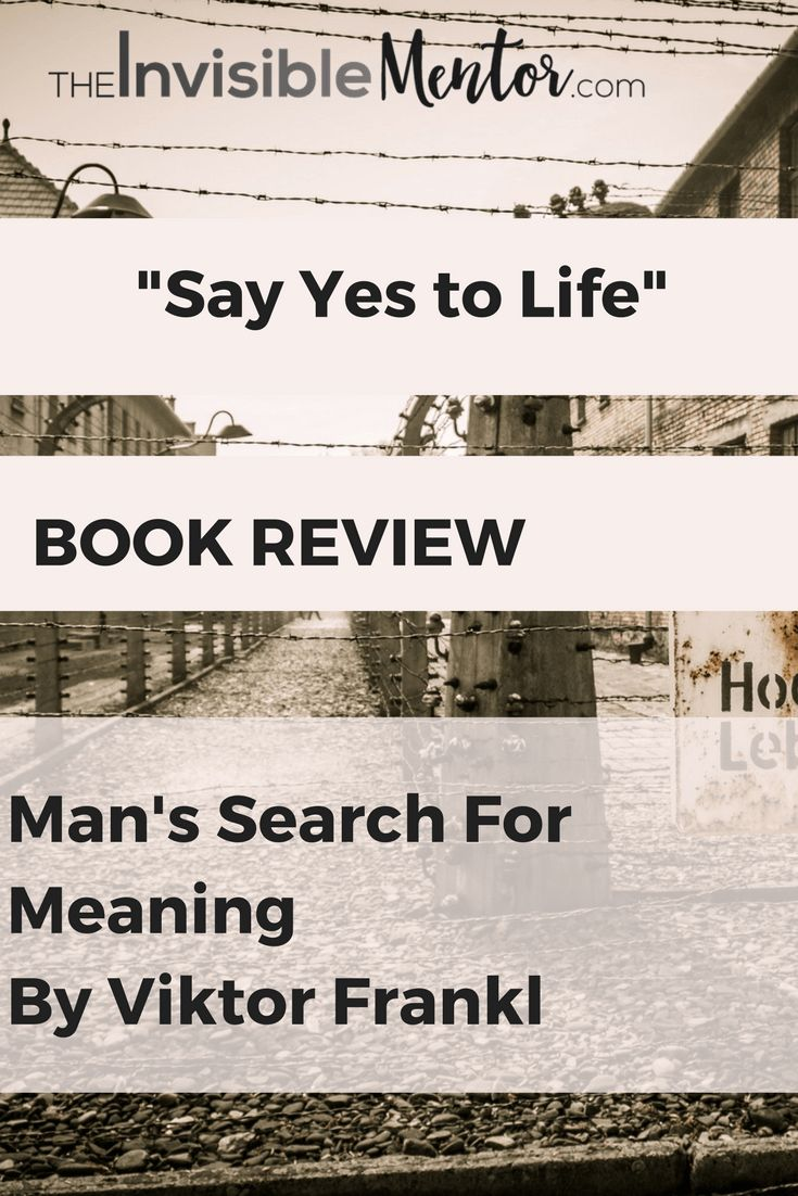 an overview of mans search for meaning novel by viktor frankl Choose your way, the power lies within you viktor frankl was a jewish doctor from austria who spent 3 years in nazi concentration camps during the 1940's.